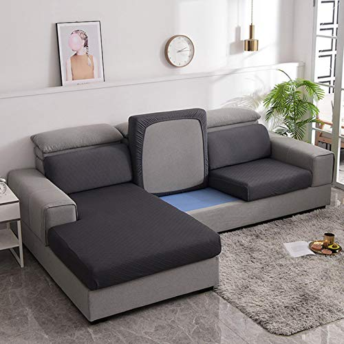 GoGOO Plaid Sofa Seat Cushion Cover Living Room Couch Sitting Mattress Backrest Corner Chaise Longue Protector Case Slipcover