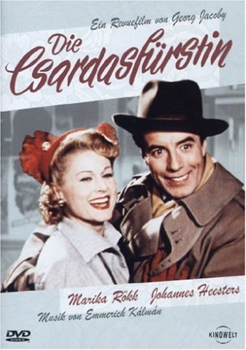 Rökk, Marika & J.Heesters Die Csardasfürstin (1951)