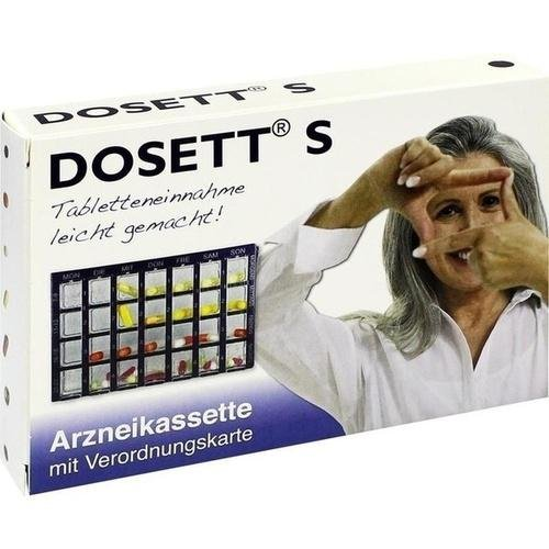 DOSETT S ARZNEIKASSETTE BL 1St 8484658