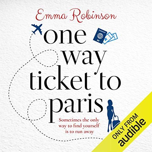 One Way Ticket to Paris audiobook cover art