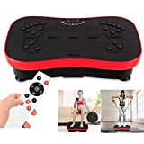 Vibration Plate Exercise Machine - Whole Body Workout Vibration Fitness Platform w/Loop Bands - Home...