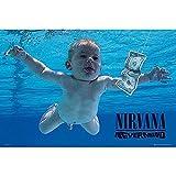 Nirvana Poster Nevermind + Zusatzartikel (Maxi-Poster, 61 x
