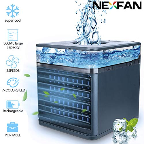 Lroplie Portable Air Conditioner Fan,NEXFAN Air Conditioner,6-in-1Mini USB Air...
