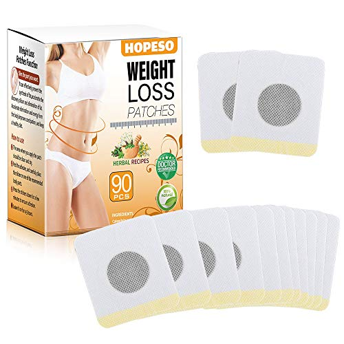 Weight Loss Sticker 90 PCS, Quick Slimming Tightening Sticker for Beer Belly, Buckets Waist, Slim Stickers for Weight Loss in Belly, Waist Abdominal Fat
