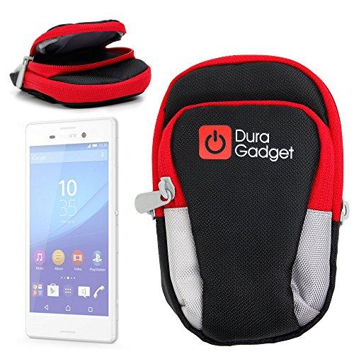 DURAGADGET Estuche/Brazalete Deportivo para Sony Xperia M4 Aqua / E4g / NW-ZX2 Walkman / E4 / E3 Deportistas!