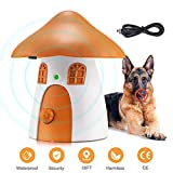 Anti Dog Barking Device, Ultrasonic Stop Dogs Barking Deterrent Anti-Bark Dog Training Control Stopper with 50 FT Rechargeable & Waterproof Stop Dog Barking for Small Puppies, Medium, Large Dogs