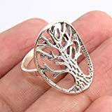 Tree Of Life' 925 Sterling Silver Ring Handmade Jewelry for Gift, Handmade Ring