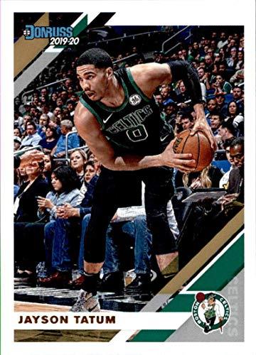 2019-20 Donruss Basketball #14 Jayson Tatum Boston Celtics Official NBA Trading Card by Panini America