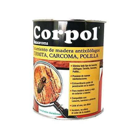 CORPOL - Protector Madera Mata Carcoma y Tratamiento Anti ...