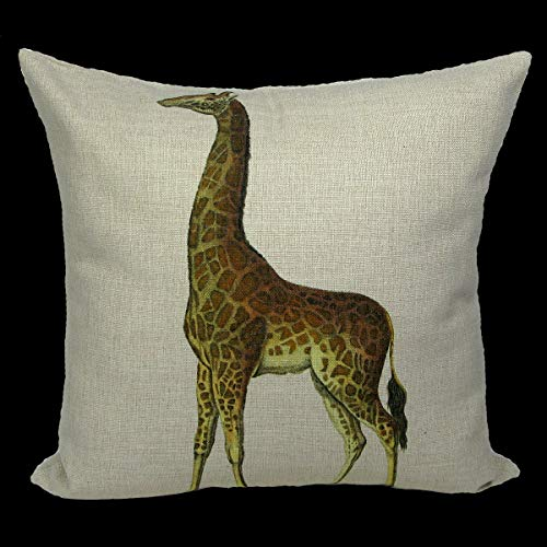 Exotic Giraffe Pillow