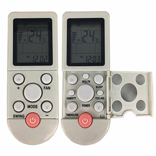 Universal-Ersatzfernbedienung für Klimaanlagen, geeignet für YKR-F/001, englische Beschriftung