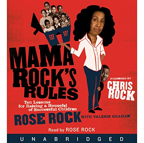 Mama Rock's Rules audiobook cover art