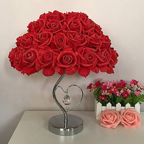 Nachtlicht Tisch Llamp Rose Flower Led Nachtlicht Nachttischlampe Home Hochzeitsfeier Dekor Atmosphäre Nachtlicht Schlaf Beleuchtung