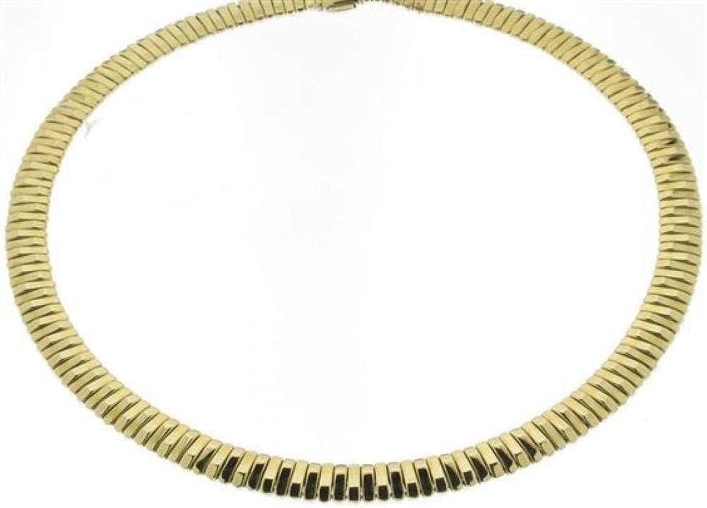 Chimento,collana per donna, in oro giallo e bianco 18kt(47,5 gr)con diamante 0,03 ct 1G00760ZBA420