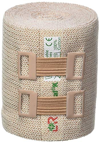 Lohmann & Rauscher Rosidal K Short Stretch Compression Bandage, For Use In The Management of Acute & Chronic Lymphedema, Edema, & Venous Insufficiency, 2.36' x 5.5 Yards (6cm x 5m), 1 Roll