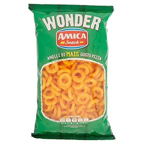 Amica Snack Wonder Anelli al Gusto Pizza - 150 gr