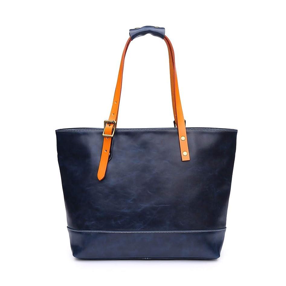 情報ましい流用するCreator屋本舗 トートバッグ ビジネスバッグ 栃木レザ- 革 本革レディーズ メンズ 2way ハンドメイド 鞄 黒 2色