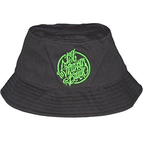 187 Strassenbande Original Logo Bucket HAT Schwarz S-M 7 1/4
