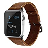 Phone Star Apple Watch Armband Leder 42mm Series 1, 2 und 3 Uhrenarmband Ersatzband Replacement...