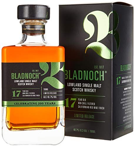 Bladnoch 17 Years Old Lowland Single Malt Scotch Whisky Whisky (1 x 0.7 l)