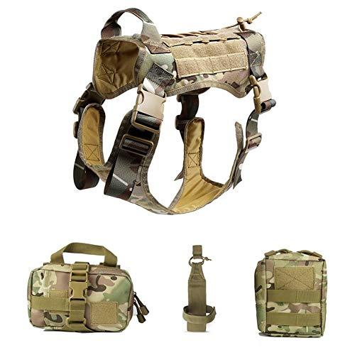 YUNGYE Jakt taktisk väst utomhus CS spel militär utrustning kamouflage strid påse/dyna överfallsbärare kläder justerbar för män tillbehör träning utrustning utrustning fält utomhus M Mc Camo