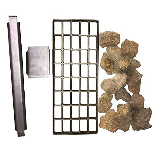 Max 59% OFF Adcraft LRK-16 Lava Rock Conversion for Charbroiler Max 65% OFF 16