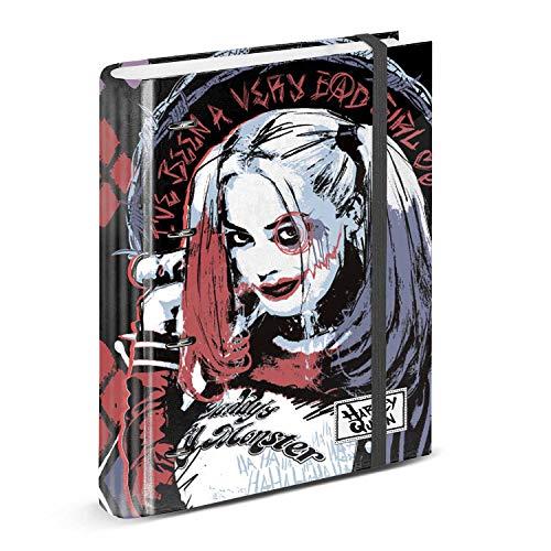 Harley Quinn Crazy-Ring Binder Notebook