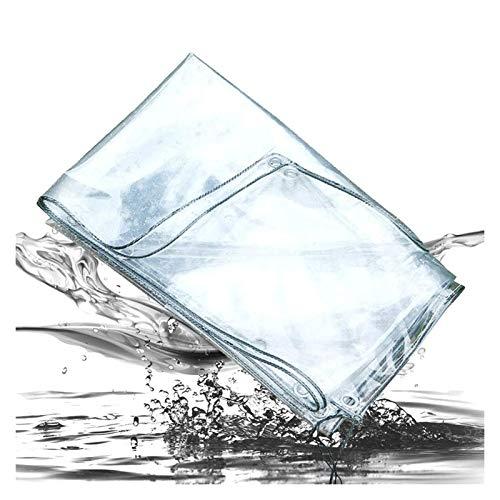 ALGFree Toldo Transparente Plastico Paño Impermeable Lona Alquitranada Al Aire Libre Toldo con Ojales Flor Planta Toldo de Película, Anticongelante Vidrio Toldo, Personalizable