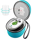 GWCASE Travel Case Compatible for Steamfast SF-717/IIMII/SMAGREHO/Mini Steam Iron Fits for Measure Cup