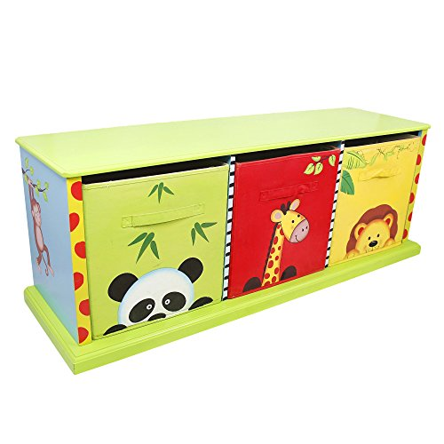 Fantasy Fields Children Sunny Safari Kids Schrank Leinwand-Schubladen TD-0131A