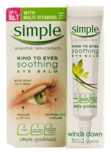 Simple Kind To Eyes Soothing Eye Balm 15ml Case of 6 by Simpl