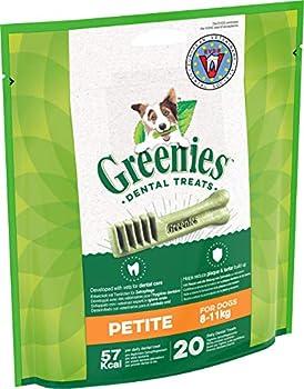 GREENIES Original Petite – Friandises à mâcher pour petit chien – 20 sticks pour une bonne hygiène bucco-dentaire – 1 sachet de 340g