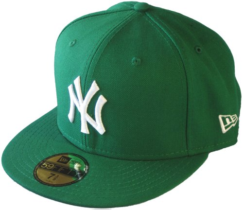 New Era New York Yankees 59fifty Cap MLB Basic Green/White - 7 1/8-57cm