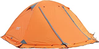 Azarxis 1 2 3 Person 3 4 Season Backpacking Tents Easy Set Up Waterproof Lightweight Professional Double Layer Aluminum Rod Tent for Camping Outdoor Hiking Travel
