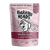 Barking Heads Comida Seca para Perros Mayores, Golden Years, Pollo De...