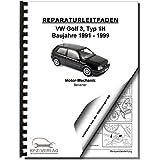 VW Golf 3 1H (91-99) 4-Zyl. 1,8l 2,0l Benzinmotor 75-115 PS Reparaturanleitung