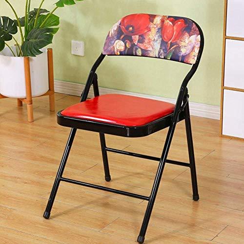 ZCXBHD moderne eenvoud eetkamerstoel, opklapbare stoel rugleuning barkruk voor keukens, restaurants, cafés, bars (optionele kleur)