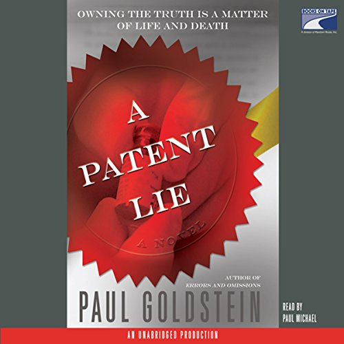 A Patent Lie  audiobook cover art
