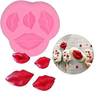 lips lollipop mold
