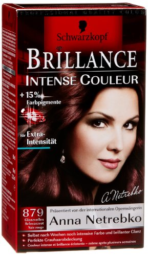 Poly Brillance Intensive Couleur Schwarzrot, 3er Pack (3 x 143 ml)