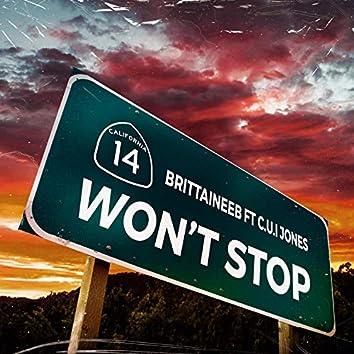 Wont Stop