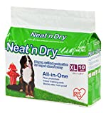IRIS Neat 'n Dry Premium Pet Training Pads, Extra Large, 23.5' x 35.5', 10 Count