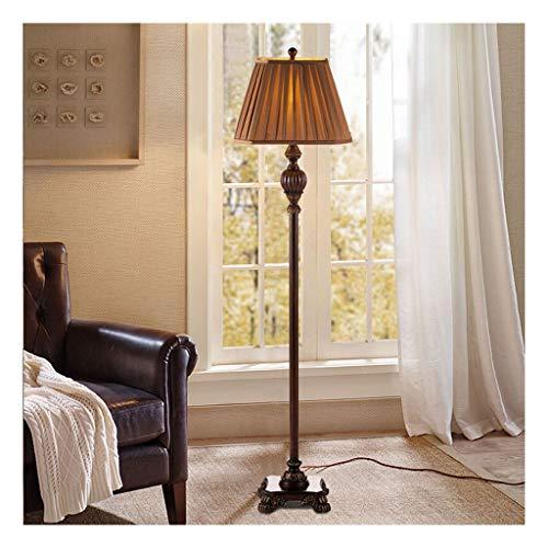 Modern Lampada da terra Retro salone della decorazione della Camera americana intagliato LED lampada decorativa Divano Comodino Fashion