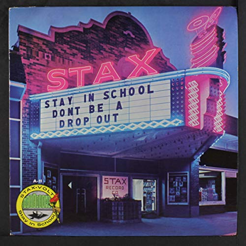 stax: stay in school - don't be a drop out LP