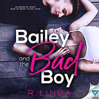 Bailey and the Bad Boy  audiobook cover art