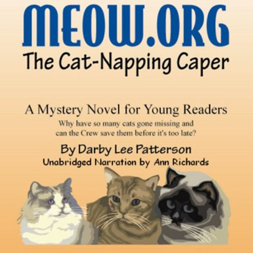 Meow.Org: The Cat-Napping Caper audiobook cover art