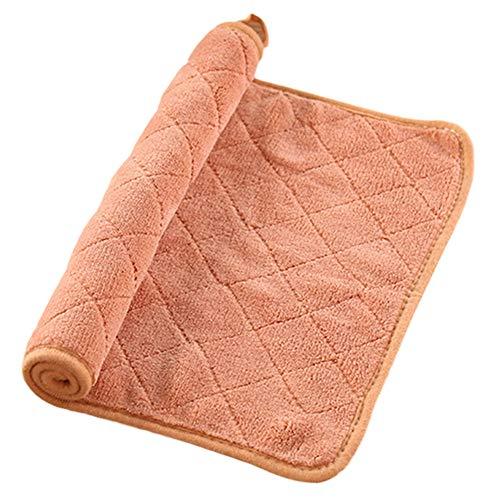 Gysad Microvezel Dikke Schaaldoeken Ultra Absorbens Schaal Handdoeken Keukenreinigingsdoeken Lint Gratis Stofdoeken Koffie