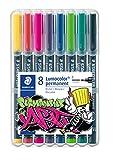 STAEDTLER 318 WP8-1 Lumocolor Permanent Art. Estuche exclusivo STAEDTLER box con...