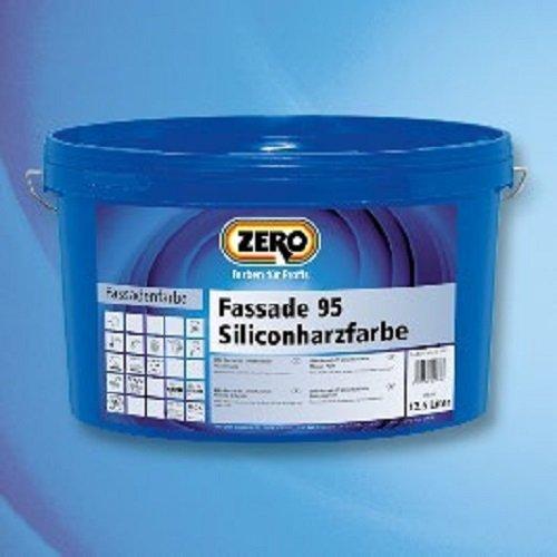 ZERO Fassade 95 Siliconharzfarbe weiß 12,5 l