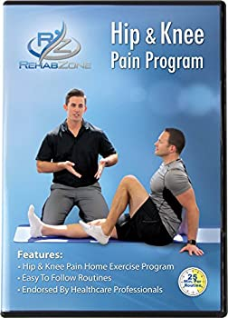 RehabZone Hip and Knee Pain Program  Physician Endorsed Home Rehabilitation DVD Program Created for Those Seeking to Reduce Hip or Knee Pain